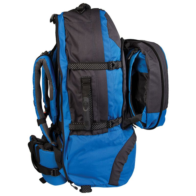 K-Way Transit 75 Travel Pack -  blue-grey