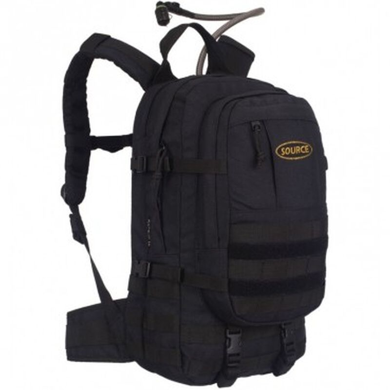 Source Assault 20L Hydration Pack -  black
