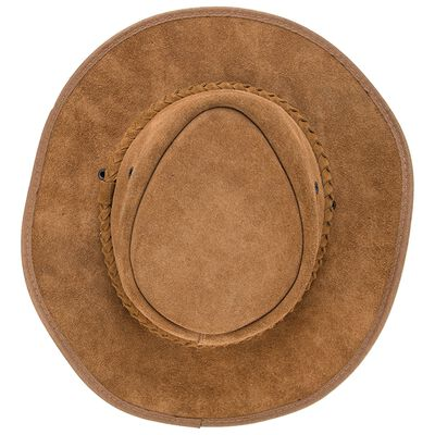 Oryx Suede Leather Hat