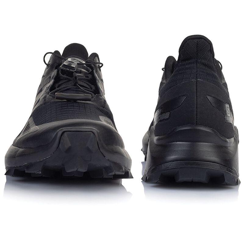 Salomon Women's Supercross Blast Shoe -  black-black