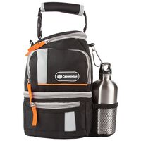 CU Lunch Cooler With Bottle -  black