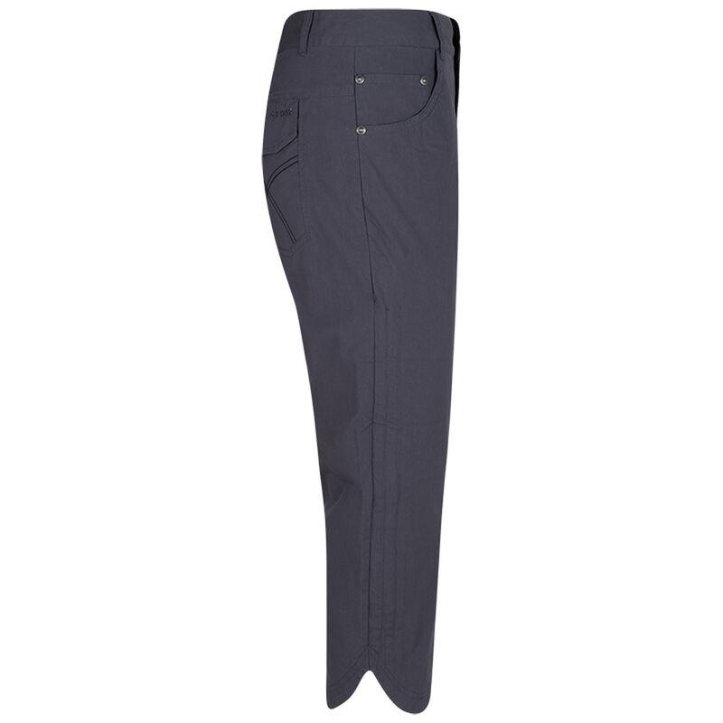 K-Way Women's Odina Capri Trousers -  charcoal