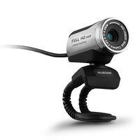 Ausdom AW615 1080P Wide View PC Web Cam  -  silvergrey