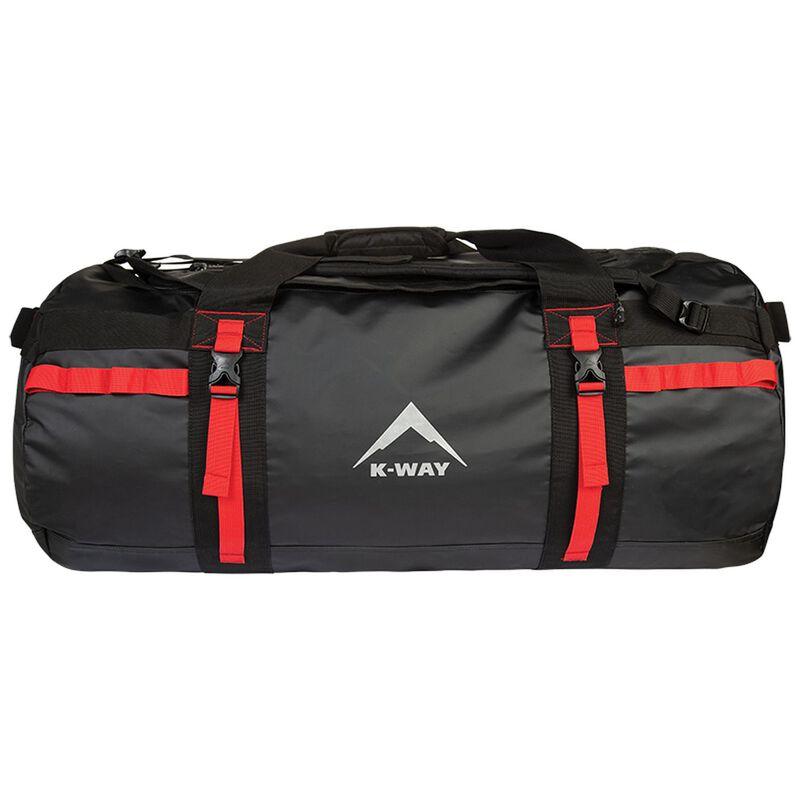 K-Way Expedition Series Sherpa PVC Duffel Bag -  black-red