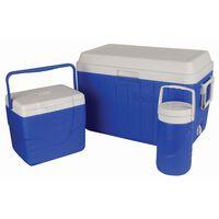 Coleman 51L Cooler Combo -  blue-white