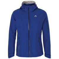 K-Way Men's Squall Tech Hiking Jacket  -  blue-airforce