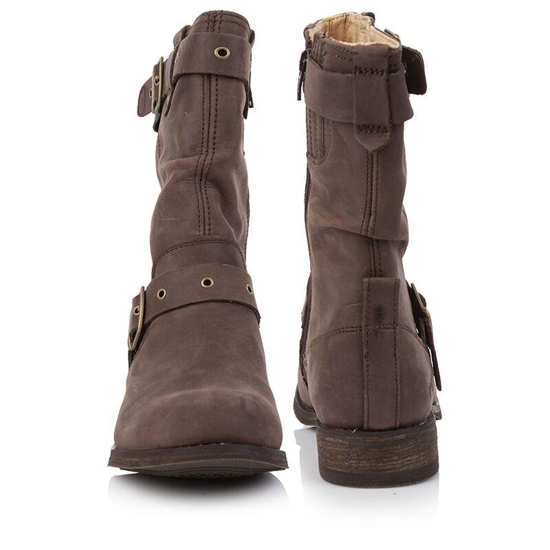 Caterpillar Women's Midi Boot  -  chocolate