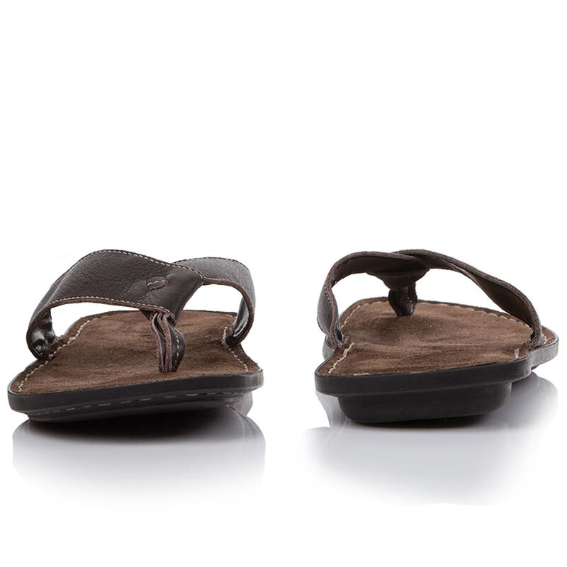 Tsonga Men's Tslops Thong  -  brown