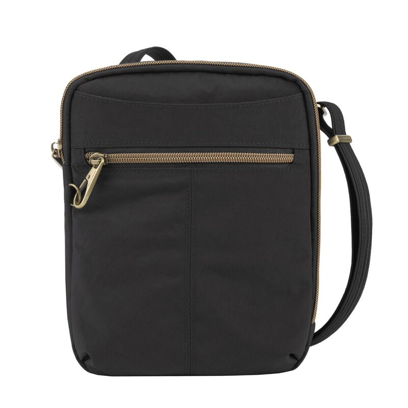 Travelon Anti-Theft Signature Slim Day Bag -  black
