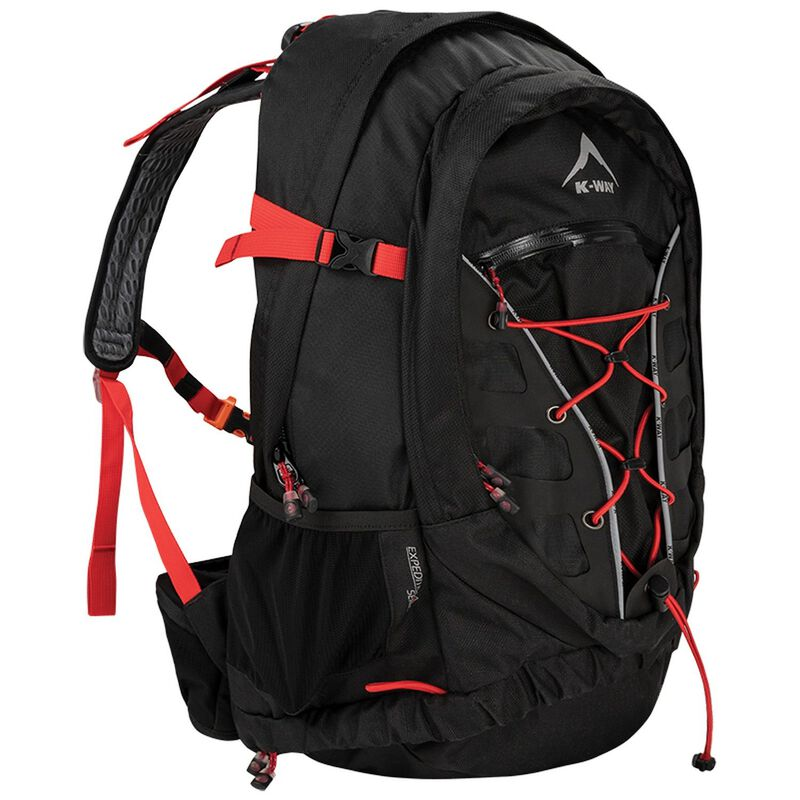 K-Way Expedition Series Kilimanjaro 35L DayPack -  black-red