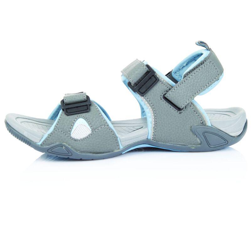 K-Way Women's Carsey Sandal -  grey-lightblue