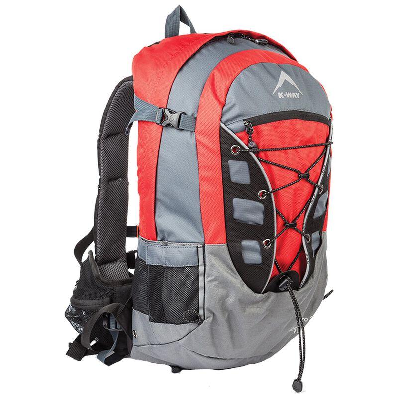 K-Way Kilimanjaro 28L Daypack -  red-charcoal