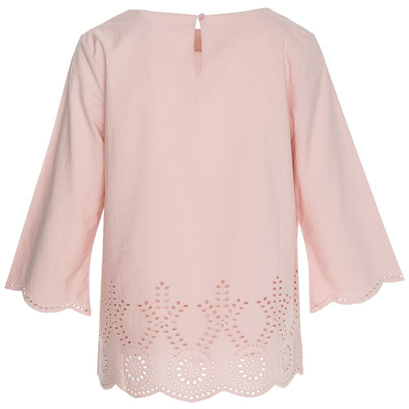 Rare Earth Women's Iris Schiffly Blouse -  pink