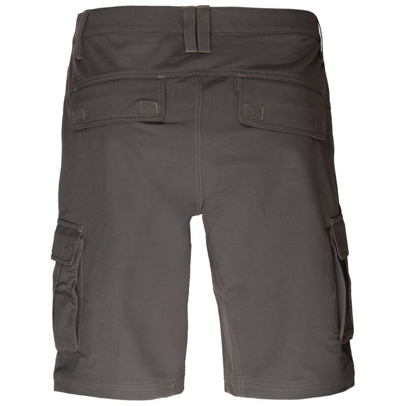 K-Way Men's Explorer Rambler Hybrid Shorts -  black