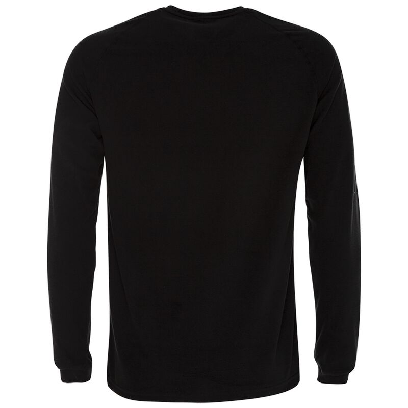 K-Way Men's Straus '19 Crewneck Fleece  -  black