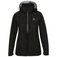 K-Way Women's Deluge Jacket -  black-black