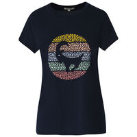 Old Khaki Women's Quinby Call-Out Tee -  navy