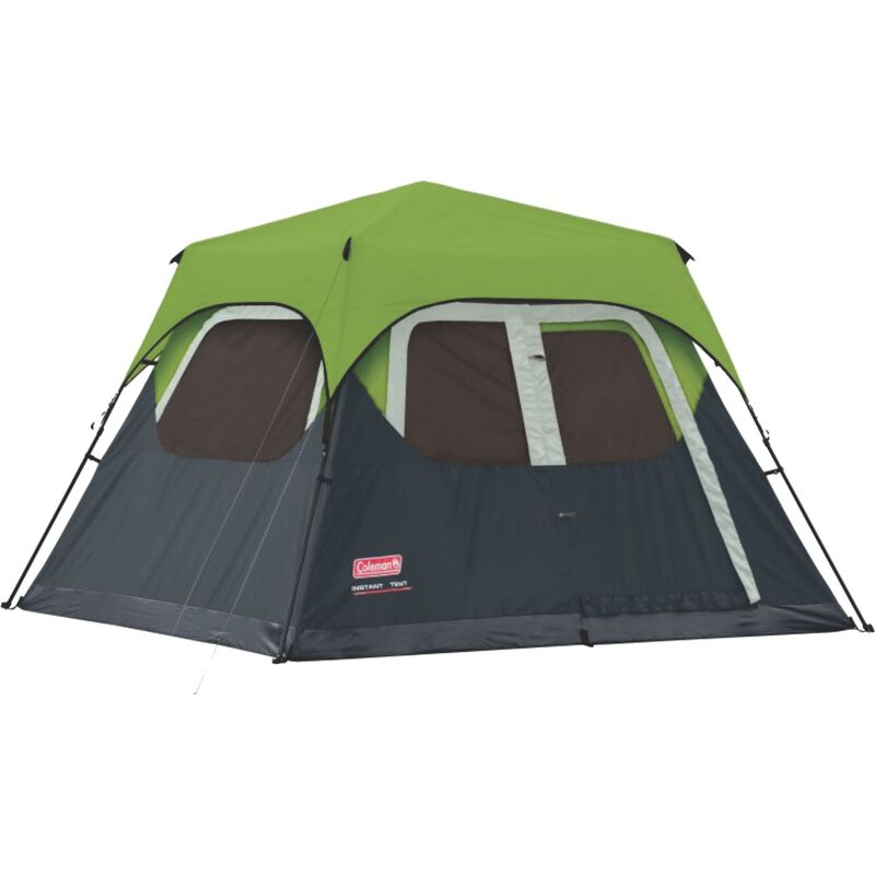 Coleman® FastPitch™ 6 Instant Cabin Tent -  lime-charcoal