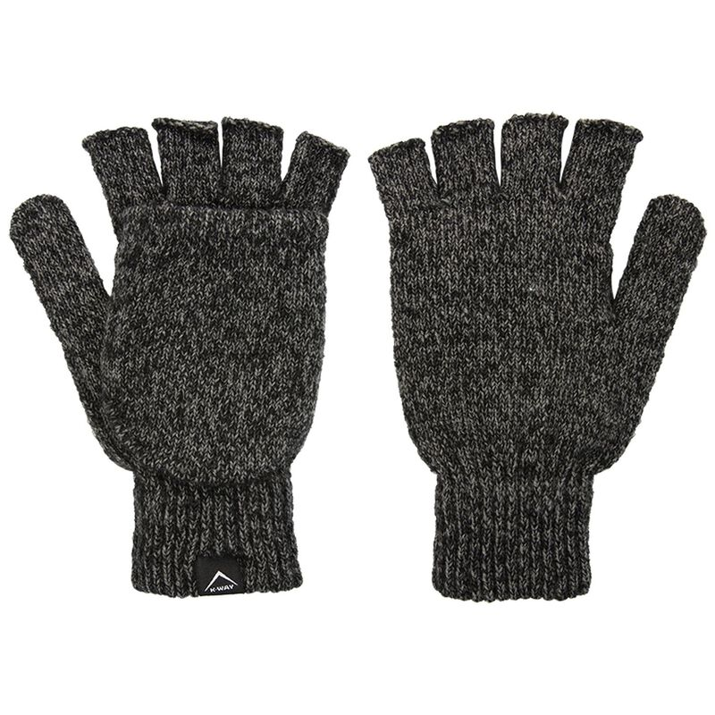 K-Way Logan Convertable Mitts -  graphite-grey