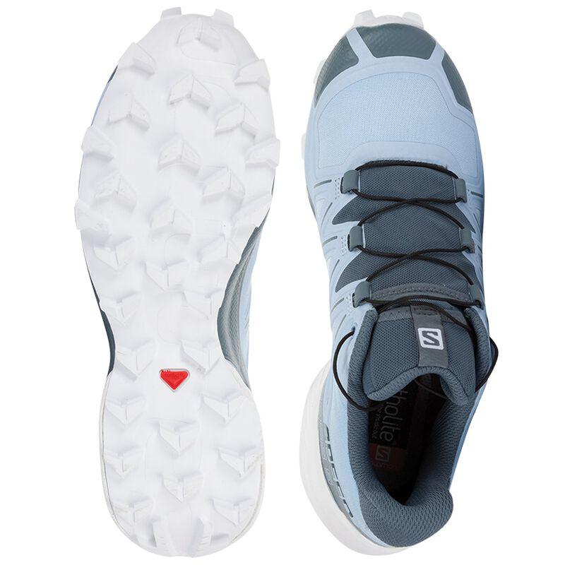 Salomon Women's Speedcross 5 Shoe -  grey-white