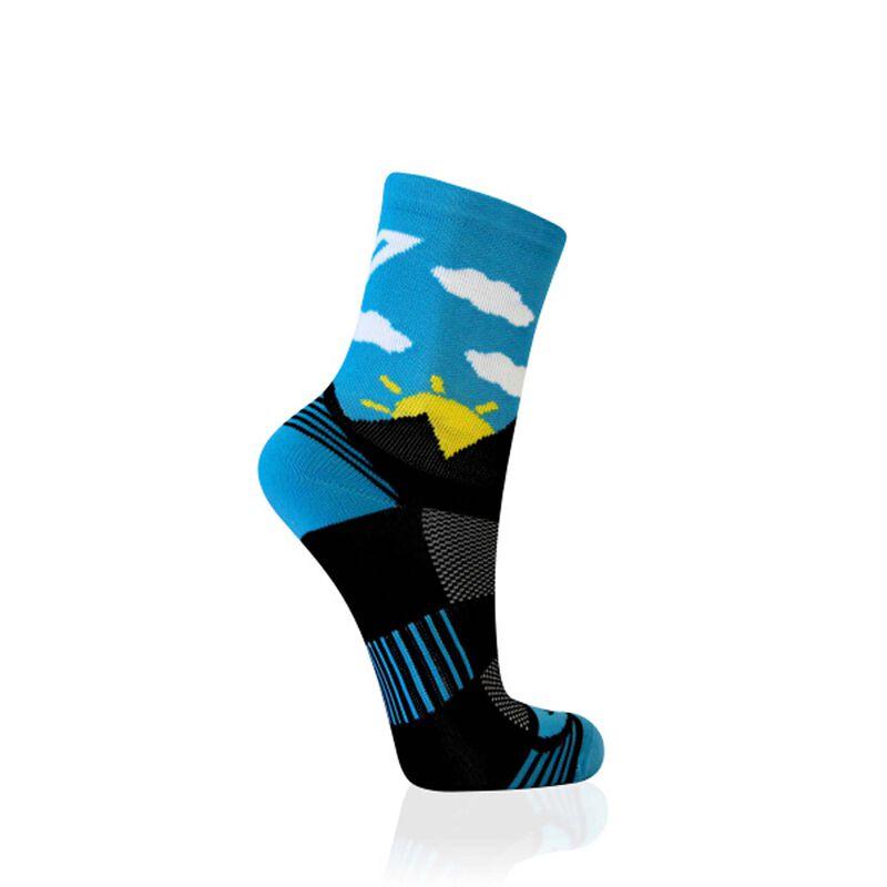 VERSUS Sunrise Sock -  blue-lightblue