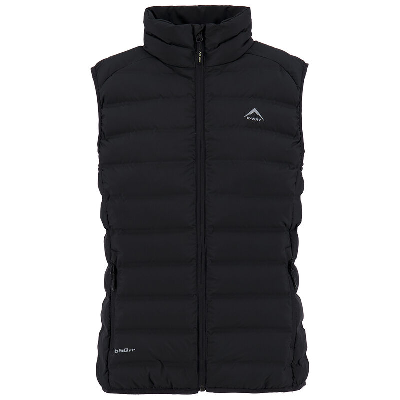 K-Way Women's Signa Down Vest -  black