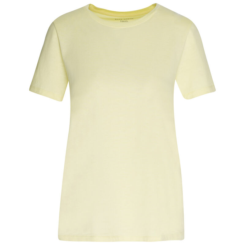 Rare Earth Almond T-Shirt -  lemon