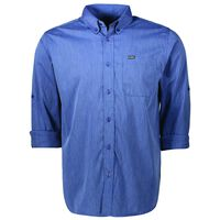 K-Way Men's Explorer Rawda Long Sleeve Shirt -  navy