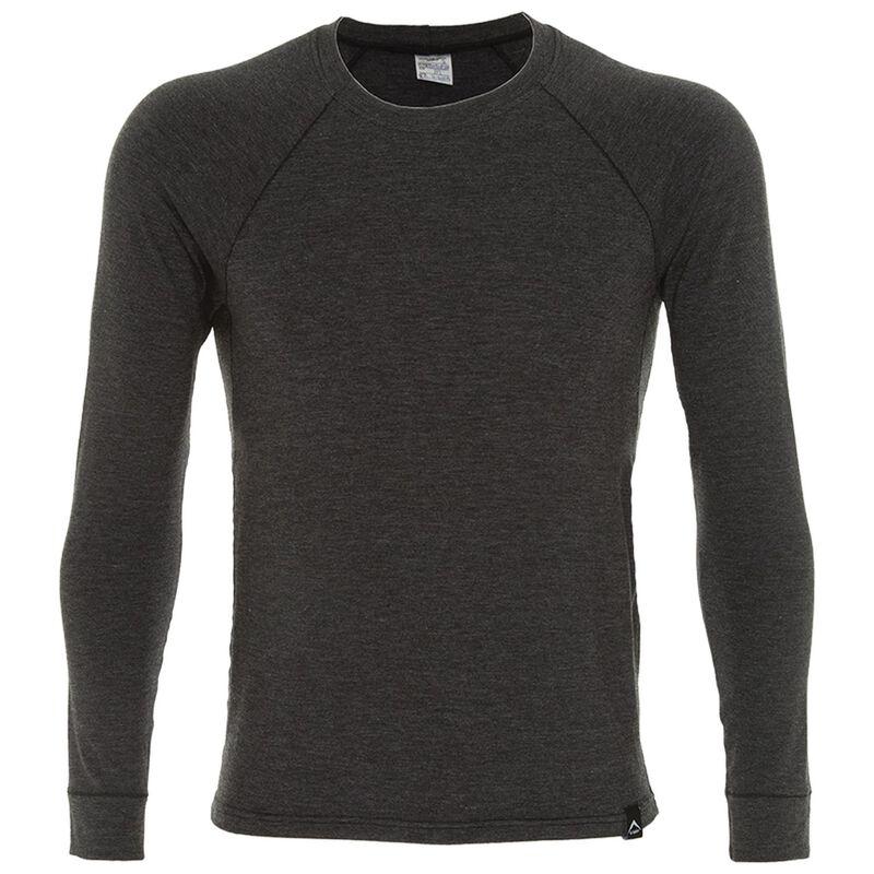 K-Way Men's Thermalator Elite Long Sleeve Vest  -  graphite
