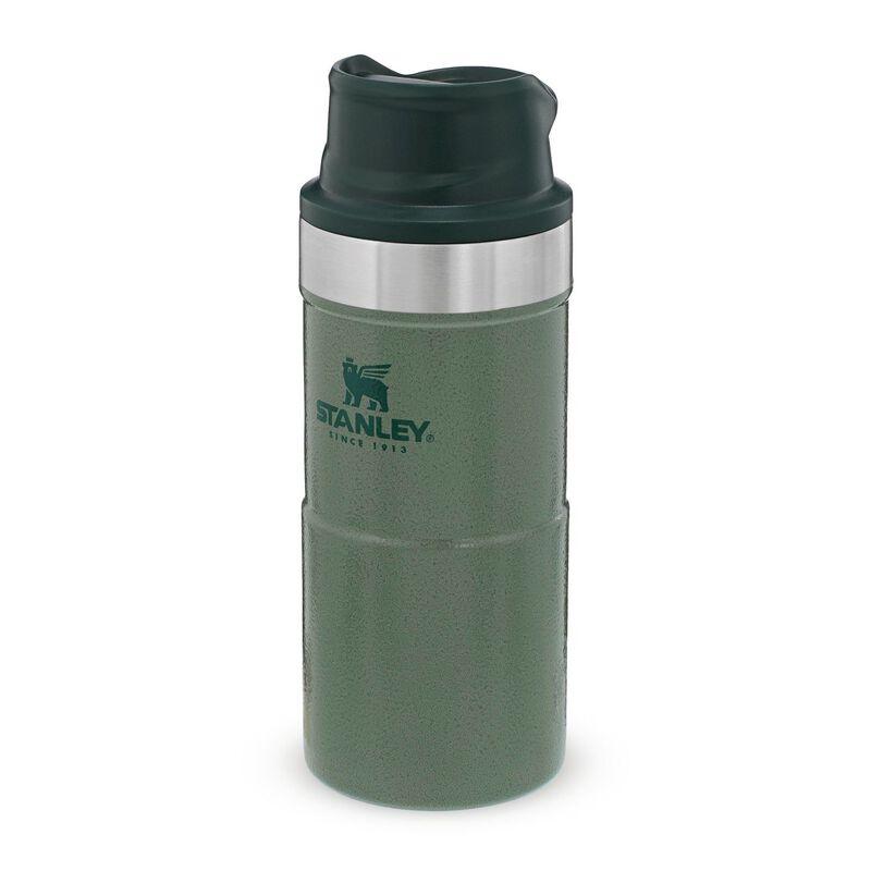 Stanley 0.35L Classic Trigger Action Mug -  bottlegreen