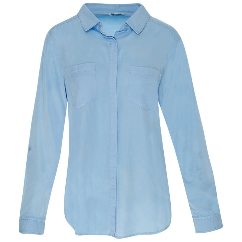 Old Khaki Women's Sahara Shirt -  blue