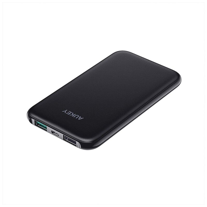Aukey PB-N59 Slim 5000mAh Power Bank -  black