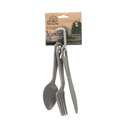 EcoSoulife Three Piece Cutlery Set