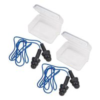 Travelon Pair of Earplugs with Cord -  assorted