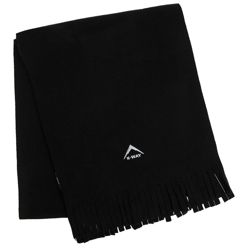 K-Way Fleece Scarf -  black