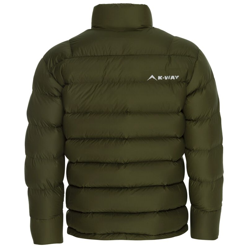 K-Way Men's Siberia '18 Down Jacket -  olive