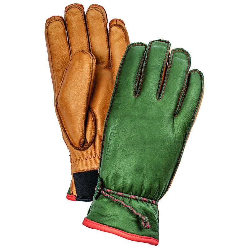 Hestra Wakayama Glove -  brown-green