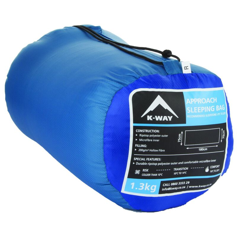 The K-Way Approach Sleeping Bag -  blue-blue