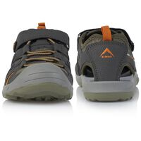 K-Way Camper Kids' Sandal -  khaki-grey