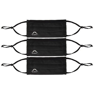 K-Way MB2 Fabric Face Mask 3-Pack