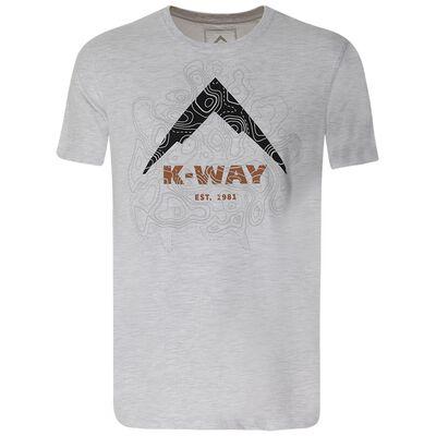 K-Way Men's Contours T-Shirt S20